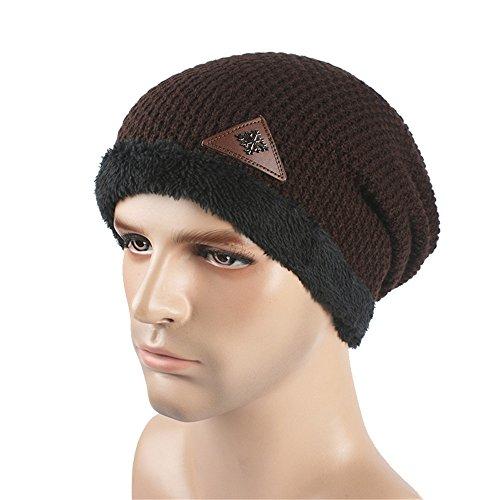 man espesada knit MASTER hat Halloween tapa Otoño negra punto sombreros gorro outdoors beanie Invierno Coffee Navidad de 8Rg8qnp
