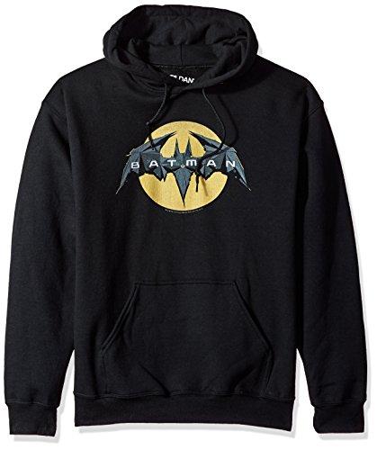 Trevco Men's Batman Unlimited Hoodie Sweatshirt, Tech Black -