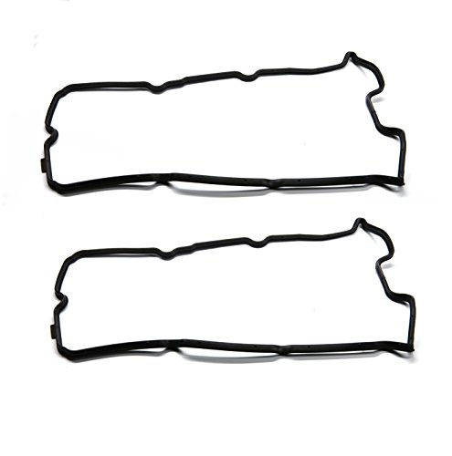 GOHAWKTEQ G10608VG Valve Cover Gasket Set for Infiniti Nissan Altima Frontier Maxima Quest Xterra ( Replaces# Fel-Pro VS50608R (Exhaust Manifold Cover)