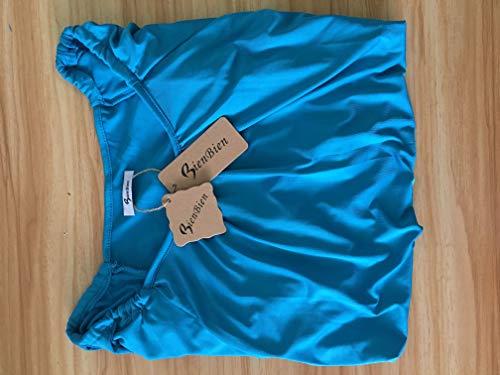 Courtes Col de BienBien Couleur Chauve Femme Epaule Haut Mousseline Nue Et Shirt Soie Top Souris V Manches Blouse Mode Unie Tunique T Chemise RXOqnXrWz