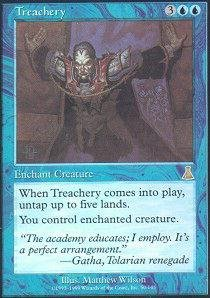 Magic  the Gathering  Treachery  Urza's Destiny by Magic  the Gathering