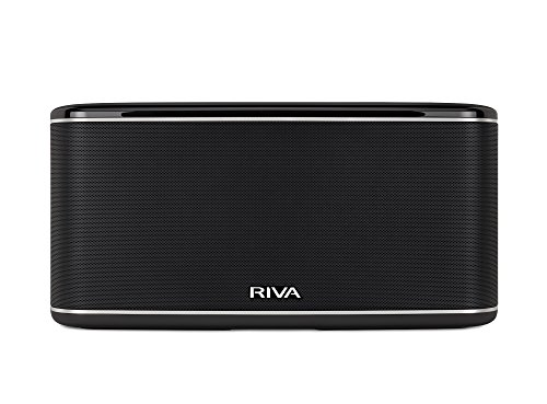 RIVA Audio tabletop Multiroom Digital Music System Black (RWF01)