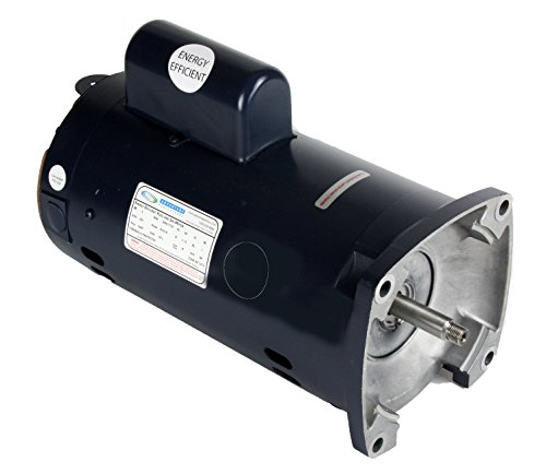 Pool Motor 1HP Square Flange 56y Brand New Century Style Provides High Performance Operation (Speed Pool Pump Motor)