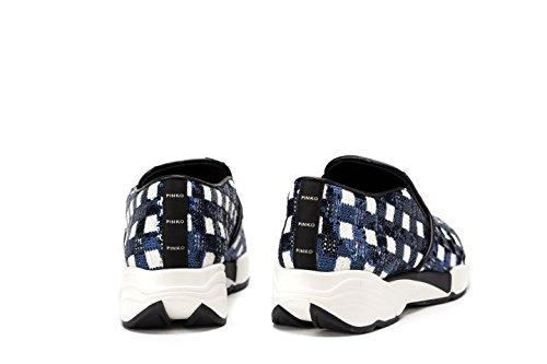 PINKO Sneakers Donna ALLUVIONE Slip-On Con Paillettes Tg. 41