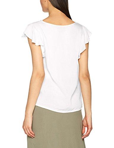 Shirt White Moda Bianco Vero T Donna Snow qUFBExA