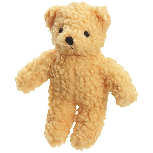(Zanies Berber Bear Dog Toys, Yellow)