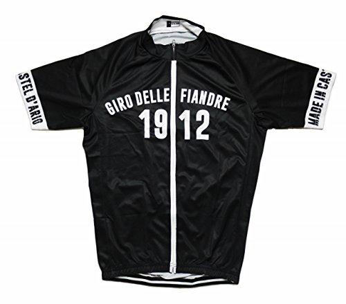 ホップ花火血統ノーブランド品 サイクルジャージ レトロデザイン No23 ベルギー メンズ クールマックス仕様 自転車 MTB サイクリング ロードバイク