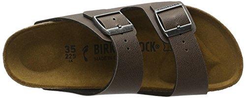 Birkenstock Arizona Birko-flor - Mules Unisex adulto Braun (Pull Up Brown)