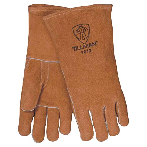 Tillman 1012 Economy Shoulder Split Cowhide Welding Gloves, Large (Welding Economy Gloves)