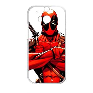 Red cloth warrior Cell Phone Case for HTC One M8