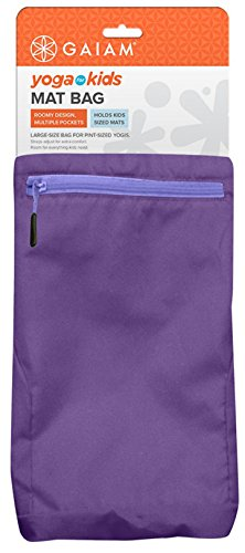 Gaiam Kids Yoga Cinch Sack, Purple