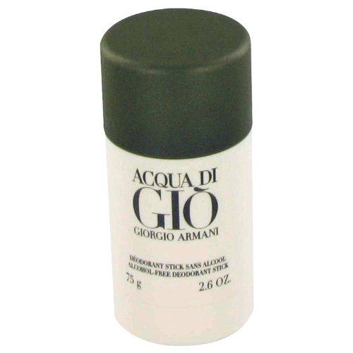 Giorgio Armani Acqua Di Gio Alcohol Free Deodorant Stick - 2.6 Oz (Acqua Di Gio Deodorant Cologne)