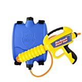 Backpack Water Gun Super Blaster Water Soaker Shooter Squirt Gun with High Capacity Tank Far Range Outdoor Backyard Game Water Fight Summer Swimming Pool Party Beach Toy for Kids Boys
