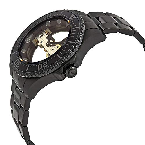 Invicta 24697 Pro Diver Men's Wrist Watch Stainless Steel Mechanical Black Dial