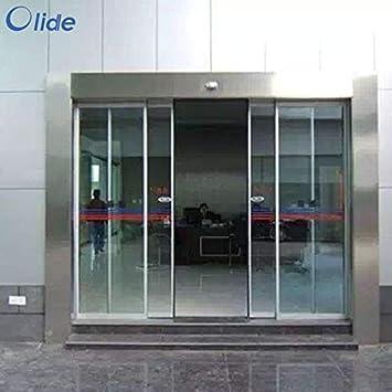 olide eléctrico puerta corredera Closer, automático bolsillo puertas correderas Slim modelo: Amazon.es: Bricolaje y herramientas