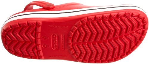 Red Unisex Adult Crocs Crocband Clogs IqPqFxTwp6