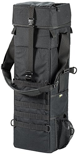 LensCoat llb3xbk 3Xpandable Long Lens Bag (Black)