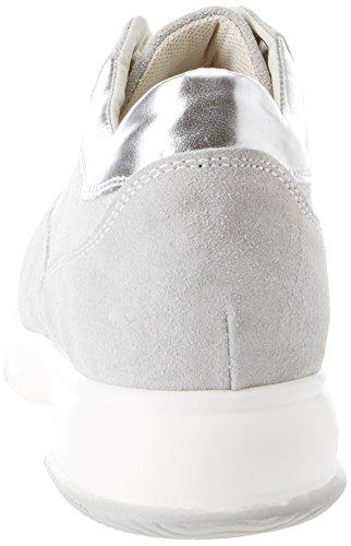 Grigio Collo a 523306 Sneaker Donna Alto BATA waYRqq
