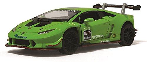 KiNSMART Lamborghini Huracan LP6202 Super Trofeo Lamborghini Huracan Super Trofeo 1 36 (Green)