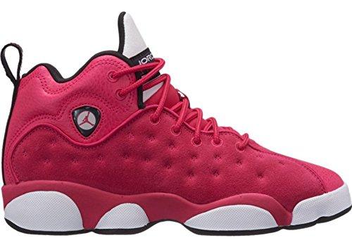 Jordan Girls Jumpman Team II (GS) - 820276-600 - Rush Pink/Rush Pink-Black-DK Smoke Grey - SZ. 7.5 Y (US) (Jordans Shoes For Girls)