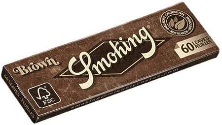 Cartine Smoking Brown Regular x 10