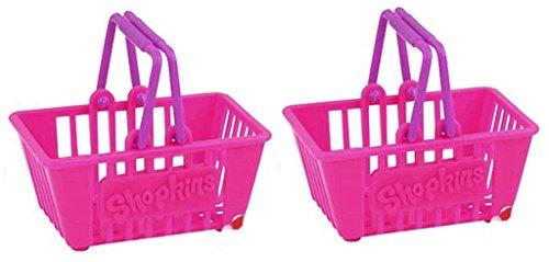 Shopkins Season 2 Pink Shopping Basket - Set of 2 for $<!--$8.99-->