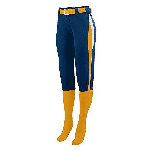 Augusta Sportswear GIRLS' COMET SOFTBALL PANT M (Gold Comet)