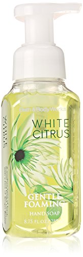 Bath and Body Works White Citrus Gentle Foaming Hand Soap 8.75 fl oz (Sea Island Cotton Hand Soap)