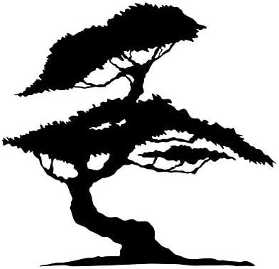 A3 size 11.7 x 16.5 in bonsa/ï japonais Arbre r/éutilisable Pochoir A3/A4/A5/et plus grandes tailles D/écoration murale//T4 Pochoir en PVC r/éutilisable 297 x 420 mm