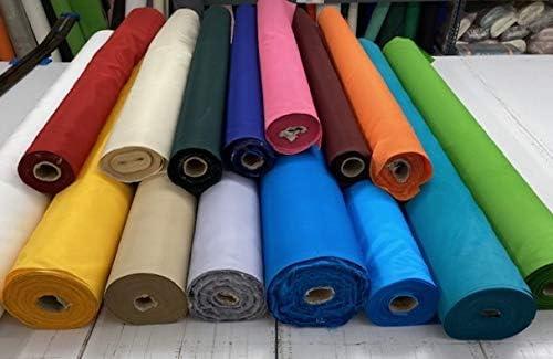Toptablecloths - Tela impermeable por metro, ancho 140 cm, 15 colores