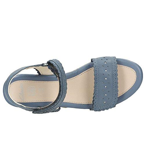Clarks  Harpy Myth Jnr, Mädchen Sport- & Outdoor Sandalen blau blau