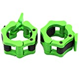 Barbell Collars 2 Inch Quick Release Pair Locking