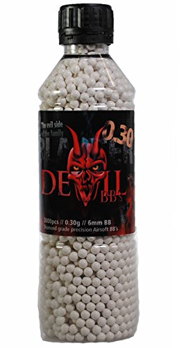 AfterMath Blaster Devil .30G 3000 Count Bottle Airsoft Pellets by AfterMath