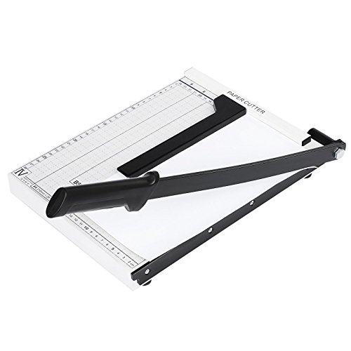 FDegage 12 Inch Paper Trimmer Cutter Heavy Duty Guillotine 10 Sheets Capacity