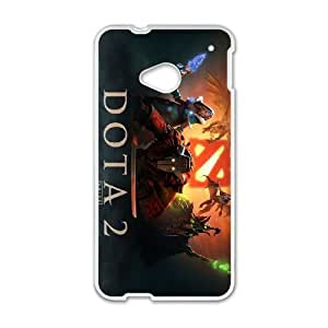 HTC One M7 White phone case Juggernaut Dota 2 DOT0121958