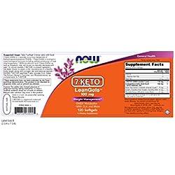 NOW 7-KETO LeanGels 100 mg,120 Softgels