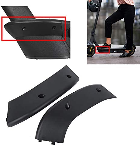 Keenso Durevole ABS Scooter Base Anteriore Anti-Collision Strip Scooter Protector AntiGraffio per Ninebot Max ‑ G30