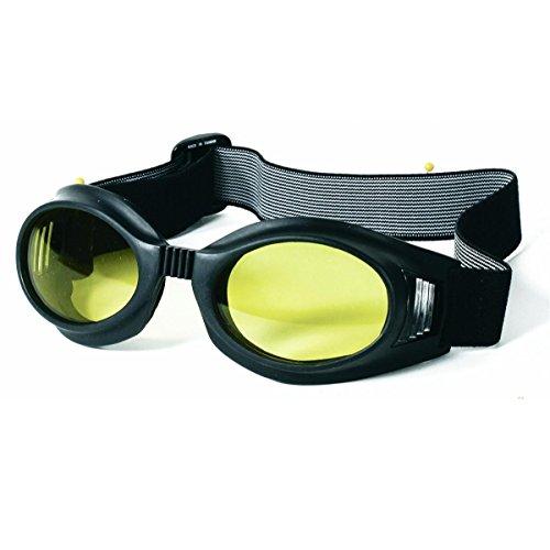 Mil-Spec Adventure Gear Plus MSA02-8828017000 Flex Frame Goggle with Yellow Lens, Black by Mil-Spec Adventure Gear Plus