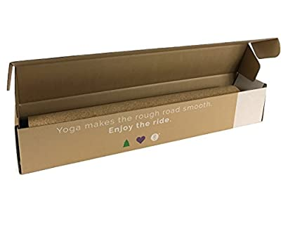 Gurus Natural Cork Yoga Products Roots Yoga Mat With Natural Rubber Bottom, Sprout Yoga Mat With TPE (Latex-Free) Bottom, and Accessories Bundle With Cork Yoga Block And Strap