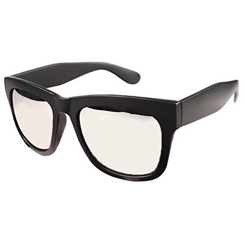 Métal 2blanco Negro Proteccion del de Conductor UV Mujer Eyeglasses Marco Cadre Aviador Anteojos Lentes Sunglasses Hombre Gafas Sol LINNUO Polarizadas en 78wqRUq