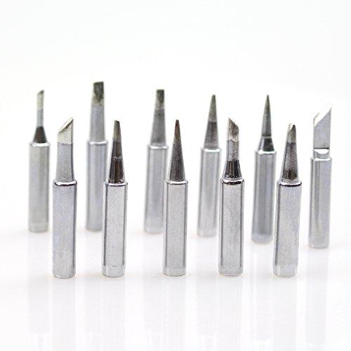 85%OFF DYWISHKEY 10pcs Solder Soldering Iron Tip 900M 933 907 936