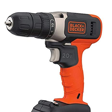 Amazon.com: Black + Decker - Taladro de iones de litio sin ...