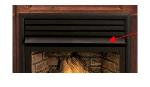 amazon com fireplace black hood for direct vent gas 42 home rh amazon com