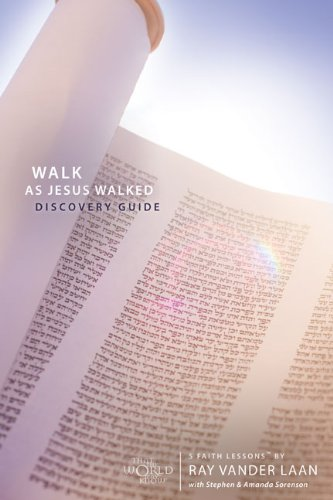 Walk as Jesus Walked Discovery Guide with DVD: Making Disciples (Faith Lessons)