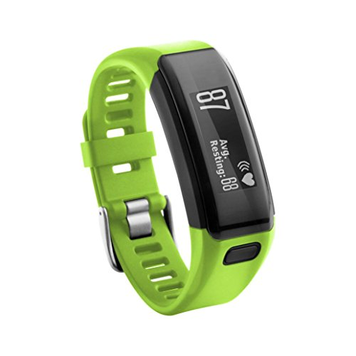 vesniba-replacement-soft-silicone-bracelet-strap-wristband-for-garmin-vivosmart-hr-green