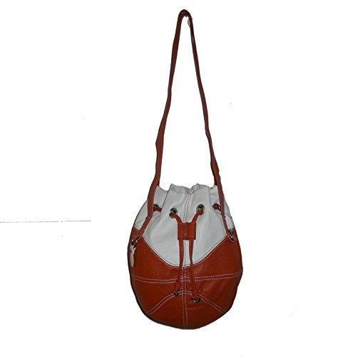 r25 Orange/White BASKETBALL PURSE Ball Shoulder Bag NBA Suns Knicks Bobcats Volunteers Bearkats Longhorns by r25
