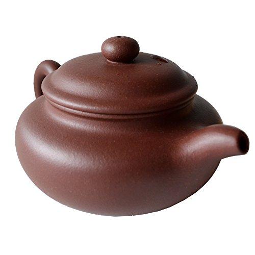 Chinese Yixing Purple Clay Handmade Vintage Pot Zisha Fang Gu Teapot Zi Ni 240cc