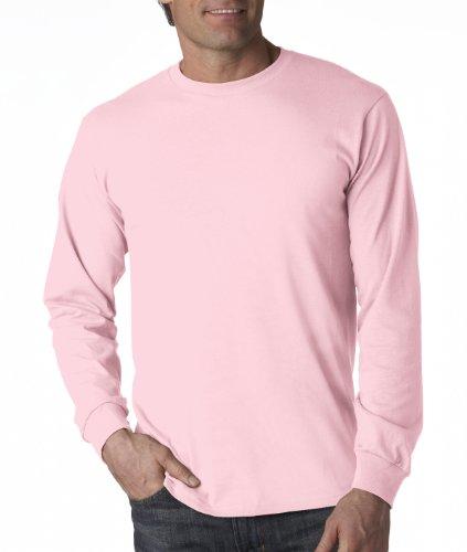 Fruit Of The Loom Classic Sweatshirt - Fruit of the Loom 5 oz.Heavy Cotton HD Long-Sleeve T-Shirt (4930) -Classic PI -L