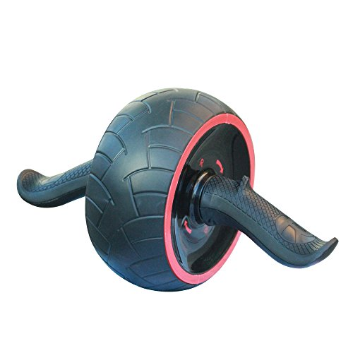 SmallGrass AB Roller Wheel Pro For muscle Exercise with Balance Technology to Stabilize Spinal Position Perfect Ergonomic Shape Best Anti-extension Core Straining Tool – Black – DiZiSports Store