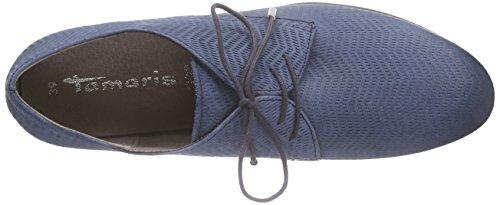 Mujer Derby Navy Tamaris 23304 805 Zapatos de Azul Azul Cordones wqRaU4T